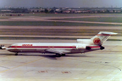 EC-CFC Boeing 727-256 cn 20813 ln 1005 Iberia Heathrow 11Jul78 (kerrydavidtaylor) Tags: boeing727 boeing727200