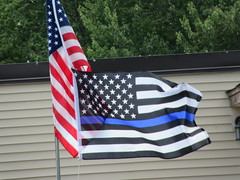 Sullivan County~New York Back the Blue (Runnin General) Tags: blueline sullivan county~new york nys scny
