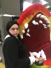 nathalie wizard world 2016 (timp37) Tags: august 2016 nat nathalie wizard world comic con wednesday addams conlife cosplayer cosplay family rosemont little shop horrors illinois chicago