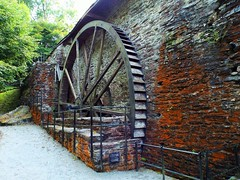 Water Wheel At Furnace. (Defabled) Tags: aberystwyth