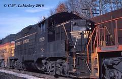 WM 6405 on 1-13-79 (C.W. Lahickey) Tags: wm emd gp9 connellsville