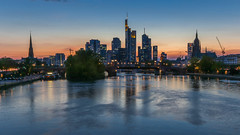 Frankfurt Skyline - HDR (joseph_donnelly) Tags: hdr frankfurt frankfurtammain skyline germany main evening abend colours