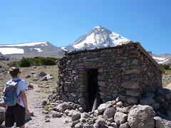 Mikael at climbers shelter (mmcg6302) Tags: mount hood oregon cooper spur hiking