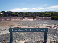 Inneston cricket ground (PhillMono) Tags: history heritage preserved empty emptiness ruin relic abandoned inneston town quarry rust cricket ground scrub bush olympus