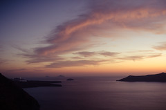 A Magical Place (Pekko Ahlsten) Tags: nikon nikond7000 nikon18200vrii santorini greece greek island holiday summer sunset sky beautiful beach night magical heaven travel travelphotography clouds colours nikkor