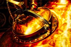 Copper Pot Still, Nikka Yoichi Museum (MarkRosauer) Tags: whisky japanesewhisky nikka yoichi potstill copper nikkamuseum hokkaido japan whiskyhistory