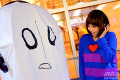 Undertale 38 (MDA Cosplay Photography) Tags: undertale frisk chara napstablook asriel cosplay costume photoshoot otakuthon 2016 montreal quebec canada undertalecosplay fun