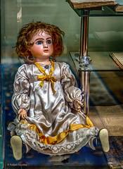 Iulia's Castle - Iulia's doll (Askjell's Photo - @work - very slow internet) Tags: bogdanpetriceicuhasdeu castle cmpina iuliahasdeu romania spiritism spooky ghost ghostly hounted mystic mysticism