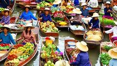 بازارهای روی آب تایلند (وبگردی) Tags: آسیا بازار بازارهایرویآبتایلند بانکوک تایلند خرید دیدنیهایجهان راهنمایسفر