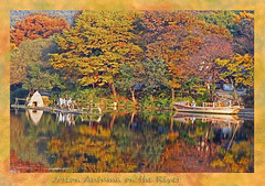 Joseon Autumn on the River (karl.wolfgang (Appalachian Son)) Tags: joseon korea koreanfolkvillage river autumn fall history asia afternoon bible