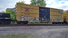 (Chicago City Limits) Tags: freights train graffiti art benching bench fr8