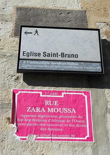 Rue Zara Moussa [Lyon, France]