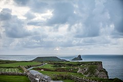 20160930_MG__0521 (Photographsof.com) Tags: rhossilli wormshead llangennith wales walking beach beachscape swansea swanseabay seascape nightphotography nightscape sheep visitwales gower cliffs sea clouds sky skycolours