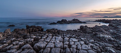 Antibes, France (JoëlVerheyen) Tags: sunset france antibes rocks sea