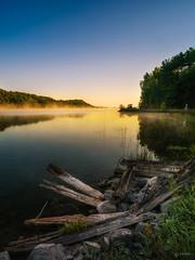 Misty Wolfe Lake (Adam C Images) Tags: nikon d800 full frame dslr mirrorless wolfe lake westport ontario canada sunrise nisi filters polarizer grad neutral density explore flickr