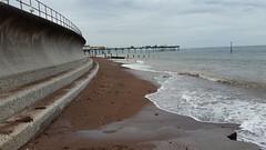 Teignmouth beach (andy.j1) Tags: teignmouth sea devon pier seawall defence beach sand