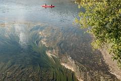Dordogne vs Vzre (m-blacks) Tags: dordogne france perigord canoes limeuil aquitaine limousin villagesdefrance vzre river boat colorful fujifilm fujifilmx30 water riverside canoeing