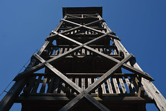 D71_6558A (vkalivoda) Tags: watchtower rozhledna velkroudn roudn morava outdoor architecture sky tower wooden