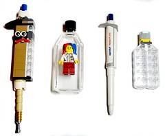 PCR (Lego Biologist) Tags: lego legomoc biology pcr pipette laboratory science research