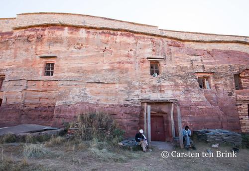 Debre Tsion (aka Abune Abraham) rock-hewn church