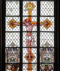 Kruzifix, Detail (julia_HalleFotoFan) Tags: klosterkirchestmarien fenster glasfenster glasmalerei