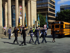 Battle of Britain & Battle of Arnhem Parade, Sheffield 2016 (Dave_Johnson) Tags: parade battleofbritain battleofarnhem tribute memorial war sheffield southyorkshire barkerspool cityhall sheffieldcityhall cenotaph warmemorial soldier soldiers veteran veterans