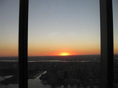 IMG_6831 (gundust) Tags: nyc ny usa september 2016 newyork newyorkcity manhattan architecture wtc worldtradecenter 1wtc oneworldtradecenter som skidmoreowingsmerrill davidchilds oneworldobservatory spire skyscraper stel glass observationdeck downtown sunset