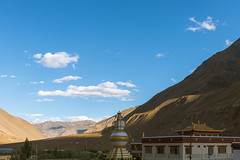 Tabo Monastery (Samarth Mediratta) Tags: ifttt 500px monastery temple buddhism travel spiti desert himachal pradesh himalayas mountains sky clouds art architecture india