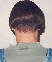 me5 (Shavednapes) Tags: shavednapes shavednape inverted nape shaved aline bob short