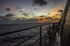 Ferry to paradise (Eve Photography By JC Clemens) Tags: water color nikon d610 24 70 mm beach mexico boat ferry playa del carmen cozumel sunet colors landscape