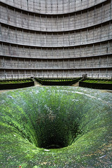 _O7A8956 (AntonyCASAFilms) Tags: urbex ue abandoned derelict cooling tower power station belgium green moss concrete