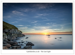 The Last Light (Phil Durkin) Tags: clouds sea september sunset wales daytime incommingtide rocks shoreline summer tide water anglesey calm calmness calming tranquil tranquility silent aob