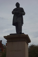 Statue of Henry Bolckow MP (1806 - 1878) by D. W. Stevenson unveiled 1881, Exchange Square, Middlesbrough (Bolckow) Tags: bolckow henrybolckow exchangesquare stevenson dwstevenson