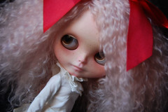 Cotton (Fausto & Gretchen  (busy with my Ph.D)) Tags: custom blythe doll mohair reroot pink ash fausto gretchen