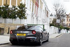 Berlinetta (tWm.) Tags: london car grey nikon grigio thomas super ferrari mein silverstone d800 f12 berlinetta 2013 v12supercar