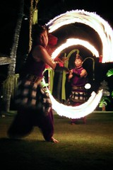 Spinning Fire (brianfarrell) Tags: ocean sea bali indonesia relax march surf peace lot wave serene relaxed tranquil tanahlot tanah 2013