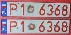 POLAND 2000's ---DEALER LICENSE PLATE PAIR (woody1778a) Tags: world auto canada cars car sign vintage europa europe edmonton photos tag woody poland plate tags licenseplate collection number photographs license plates foreign numberplate licenseplates dealer numberplates licenses cartag carplate carplates autotags cartags autotag foreigns pl8s worldplates worldplate foreignplates platetag