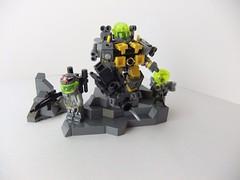 XenoForm Combat Suit (Garett Smith.) Tags: robot lego alien guns fi armour sci xeno brickarms uploaded:by=flickrmobile flickriosapp:filter=nofilter