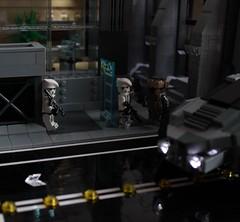 Stakeout (✠Andreas) Tags: lego scenes armoredcar thepurge legomilitary legoscene legocyberpunk eulrv thepurgeeu legoarmoredcar