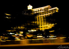 Everything Passes (Eleven ~ NYC~ Teresa) Tags: abstract blur building lines night hotel lasvegas streetphotography fast teresaescamilla elevensphotography