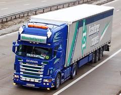 Scania R series B 533EG Bischofberger (gylesnikki) Tags: blue truck artic bischofberger