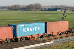 4960 291 - Sggrss - DB Intermodal - BR - 20130112 (Cees Cargo Wagons) Tags: kr kv neuss hanjin kline goederen betuweroute herwijnen interbulk containerwagens sggrss kombirail 31riv80ddb49602911 sggrss7332