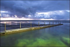 Dusk at Mona Vale rock pool (Enjoy Little Things - www.enjoylittlethings.com) Tags: justclouds me2youphotographylevel1