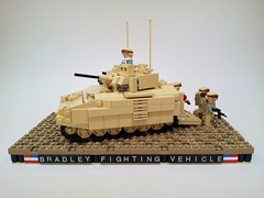 Bradley Fighting Vehicle (Project Azazel) Tags: usmc lego pa ba custom bradleyfightingvehicle armouredpersonnelcarrier brickarms modernwarfare legomilitary legocustom modernmilitary legoapc legomodernmilitary legousmc projectazazel legomilitarymodel legoarmouredpersonnelcarrier legobradleyfightingvehicle