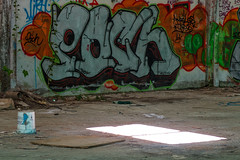 La Fabrica - 83 (r2hox) Tags: graffiti urbanart santiagodecompostela arteurbano abandonedspaces