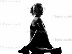 woman workout fitness posture (Franck Camhi) Tags: shadow people woman white cute sports girl beautiful beauty silhouette female training cutout pose person one 1 sitting exercise background fulllength young bodybuilding whitebackground studioshot posture bodybuilder workout fitness stretching position oneperson aerobics caucasian exercising onewoman