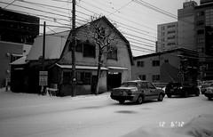 Sapporo (shotarveladze0207) Tags: bw monochrome t sapporo tmax contax  tvs  carlzeiss contaxtvs 100tmax