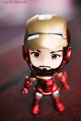Lettel Iron Man (Lady Alec) Tags: man iron doll tony figure nendoroid