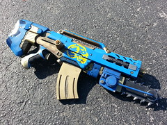 Custom Nerf related projects (Johnson Arms) Tags: hello 2 film hammer movie war punk gun arms brian ghost johnson chainsaw kitty steam chain replica elite sniper warhammer warrior series custom themed nerf gears prop strongarm rotator x8 bolter roughcut lanard longstrike flickrandroidapp:filter=none