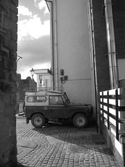 Land Rover (ambo333) Tags: uk england car cumbria gb marketplace landrover brampton